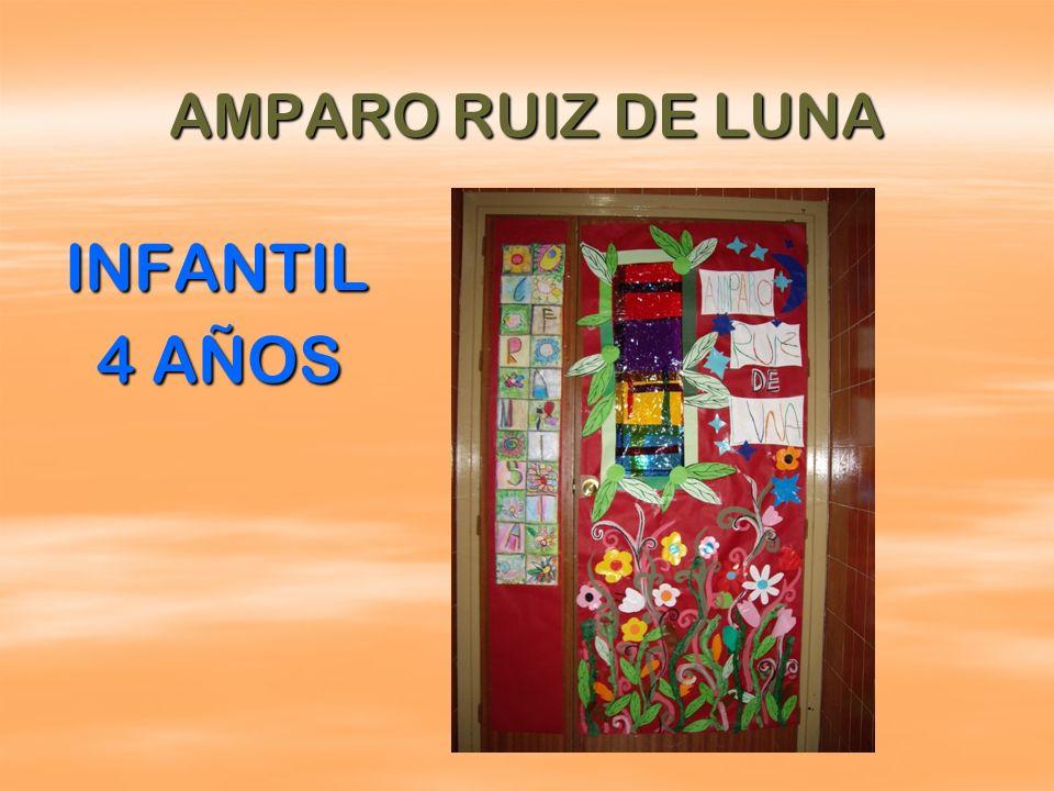 AMPARO RUIZ DE LUNA INFANTIL 4 AÑOS 4 AÑOS