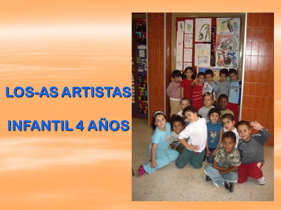 LOS-AS ARTISTAS INFANTIL 4 AÑOS