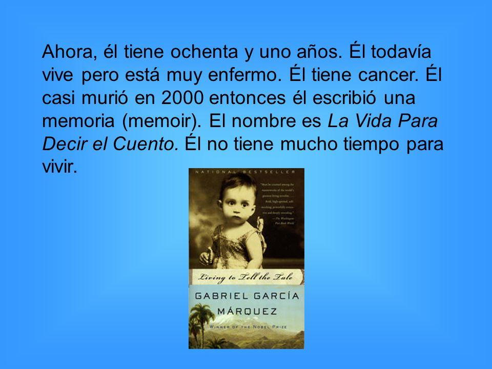 http://a2.vox.com/6a00c22525688b8fdb00e39898daa20002-500pi http://theunquietlibrary.files.wordpress.com/2007/11/love_in_the_time_of_ cholera.jpg http://vivirlatino.com/i/2007/10/gabriel_garcia_marquez_2.jpg http://upload.wikimedia.org/wikipedia/en/thumb/9/91/Living_to_Tell_the_ Tale.jpg/180px-Living_to_Tell_the_Tale.jpg Works Cited