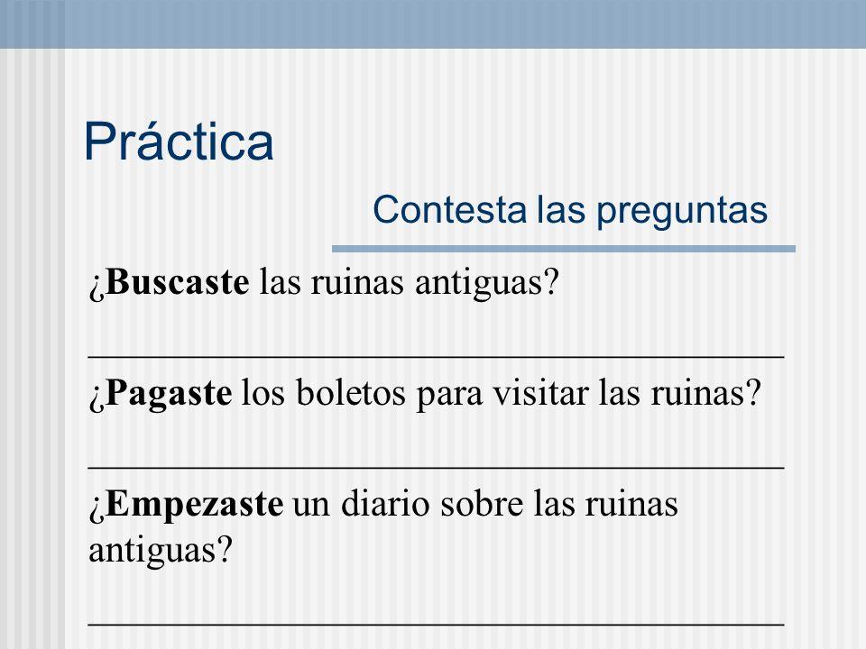 -car, -gar, -zar Yo preterite forms: c___sacar sa___ g___jugar ju___ z___cazar ca___