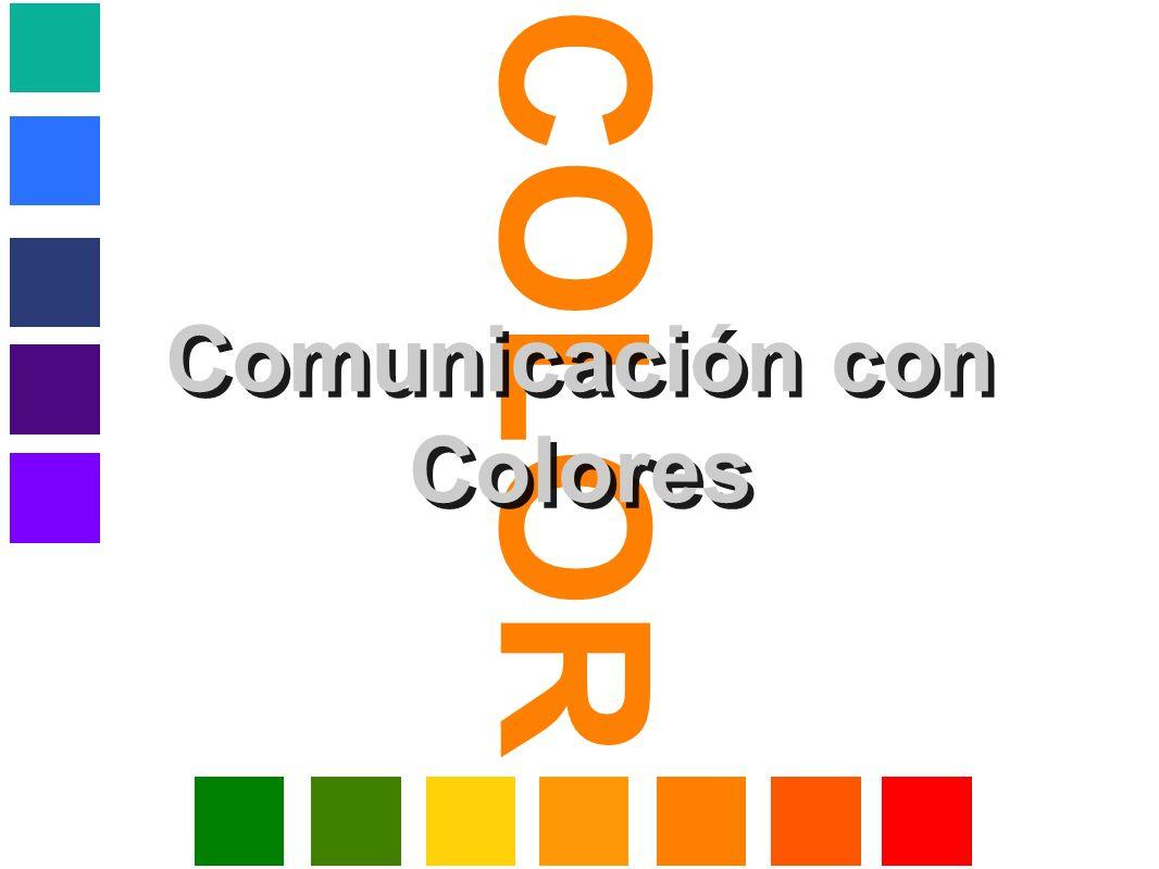 COLOR Comunicación con Colores