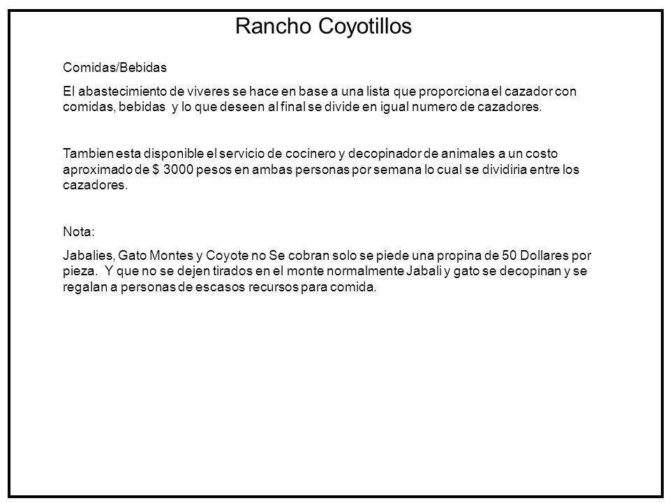 Rancho Coyotillos Trofeos 2007-2008