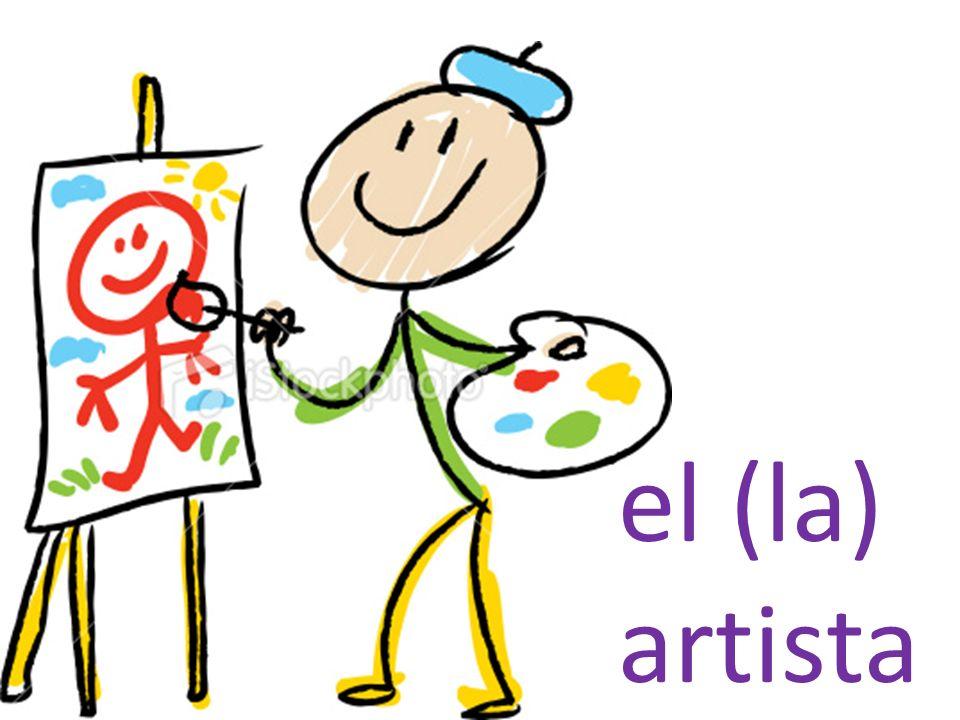 el (la) artista