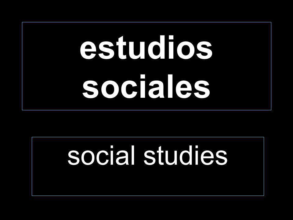 estudios sociales social studies