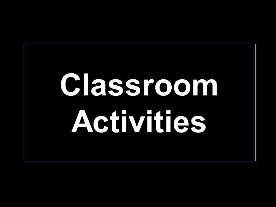 Classroom Activities