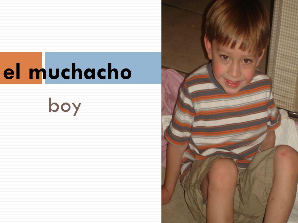 boy el muchacho