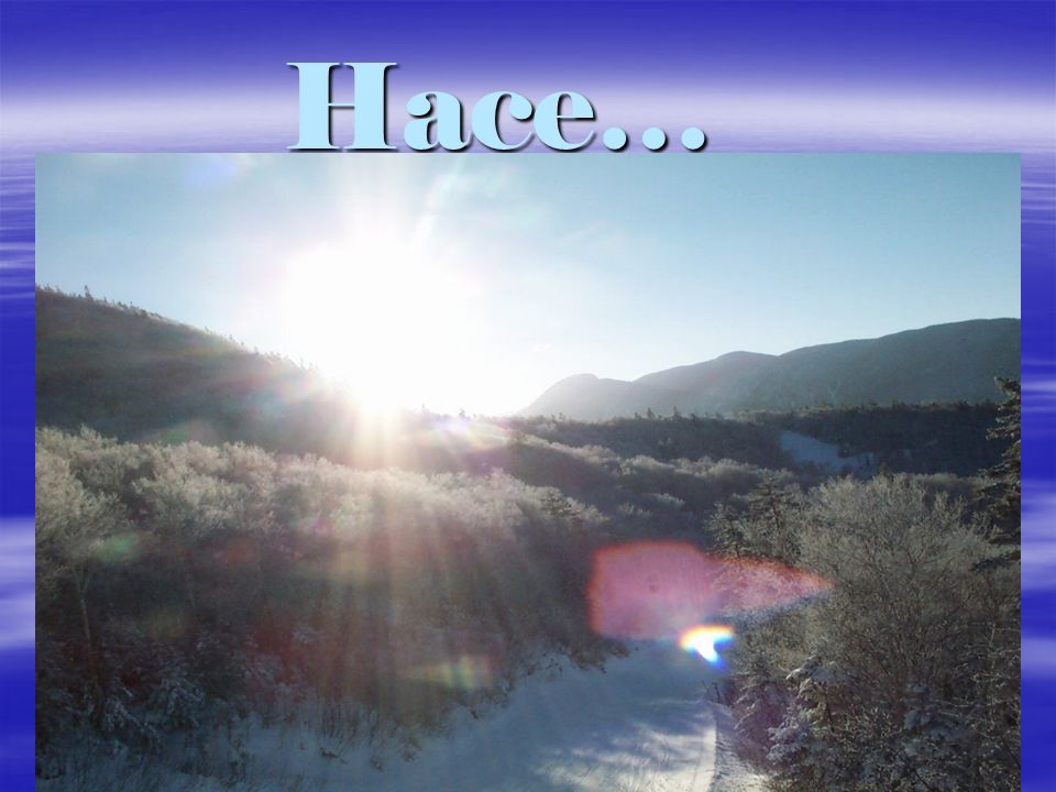 hay sol its sunny