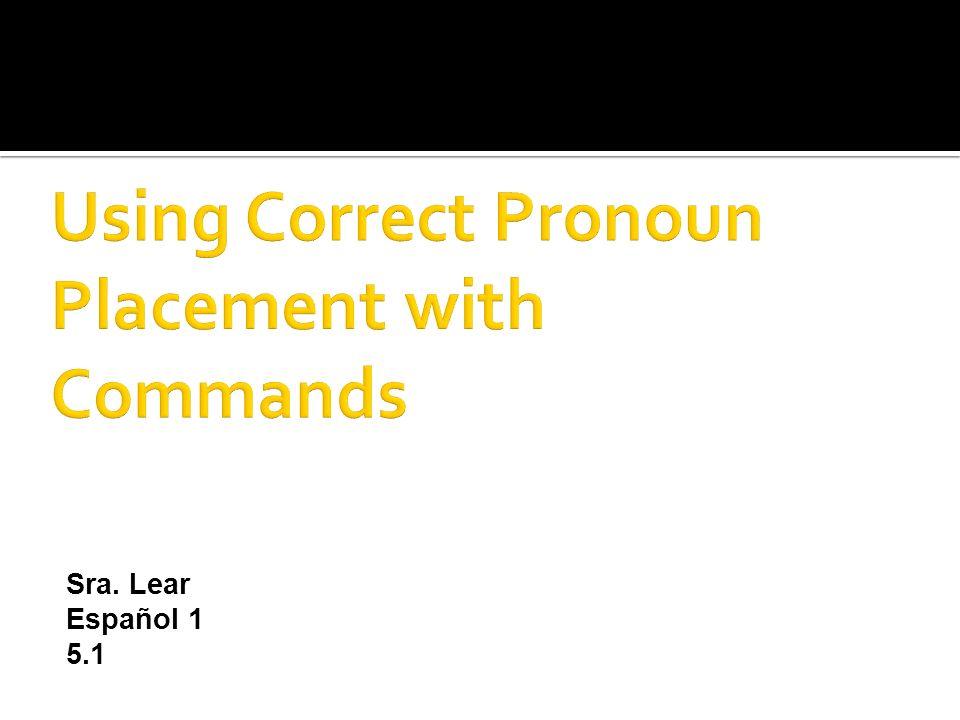 Sra. Lear Español 1 5.1