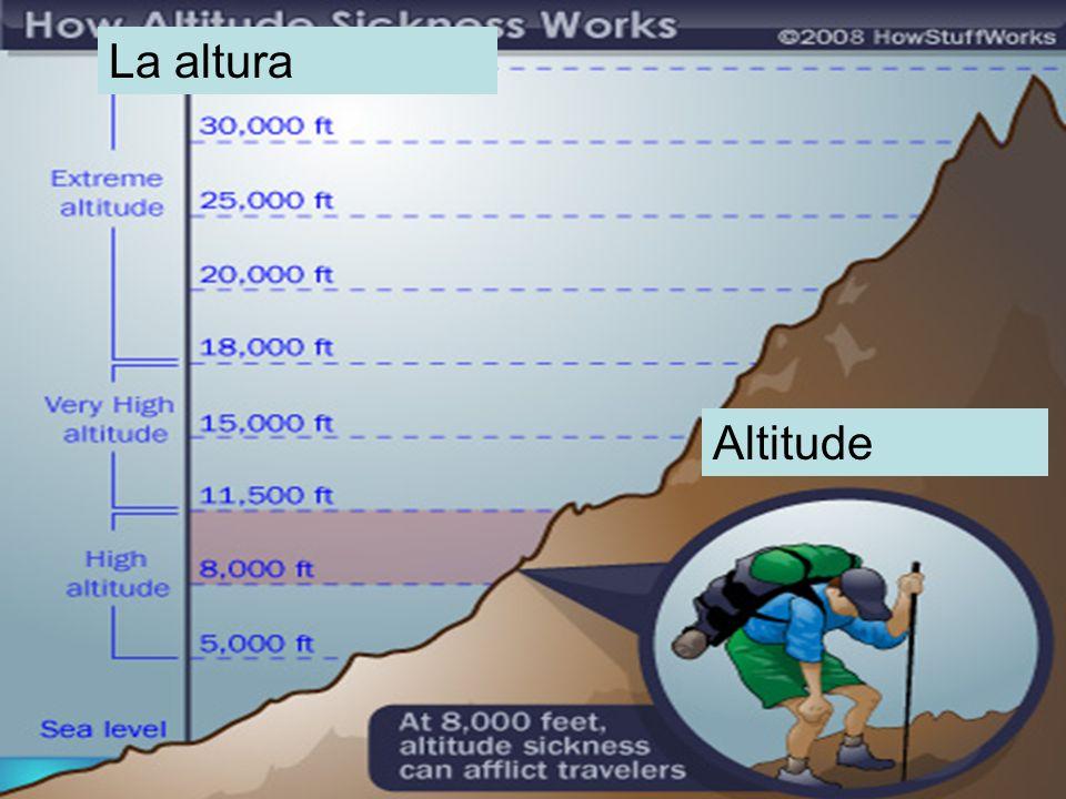 La altura Altitude