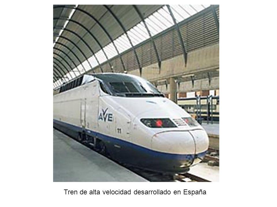 Tren de alta velocidad desarrollado en España