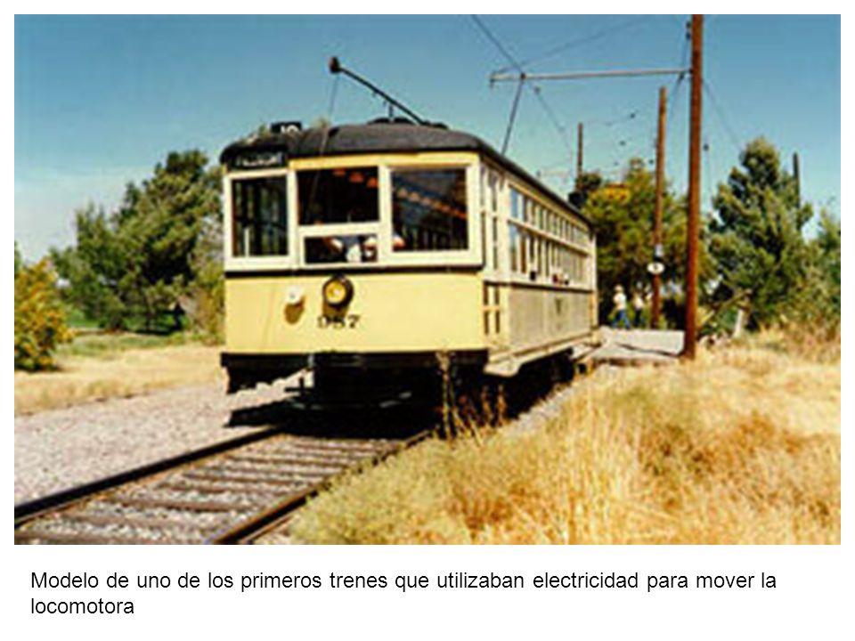 Modelo de tren eléctrico utilizado en Cuba y en Centro América.