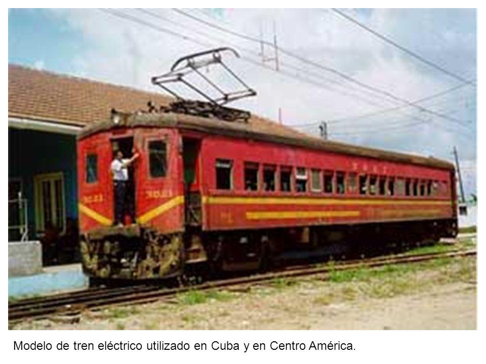 La levitación magnética Hacia 1960 Japón empezó a desarrollar un tren de alta velocidad que no hacía contacto con los rieles.
