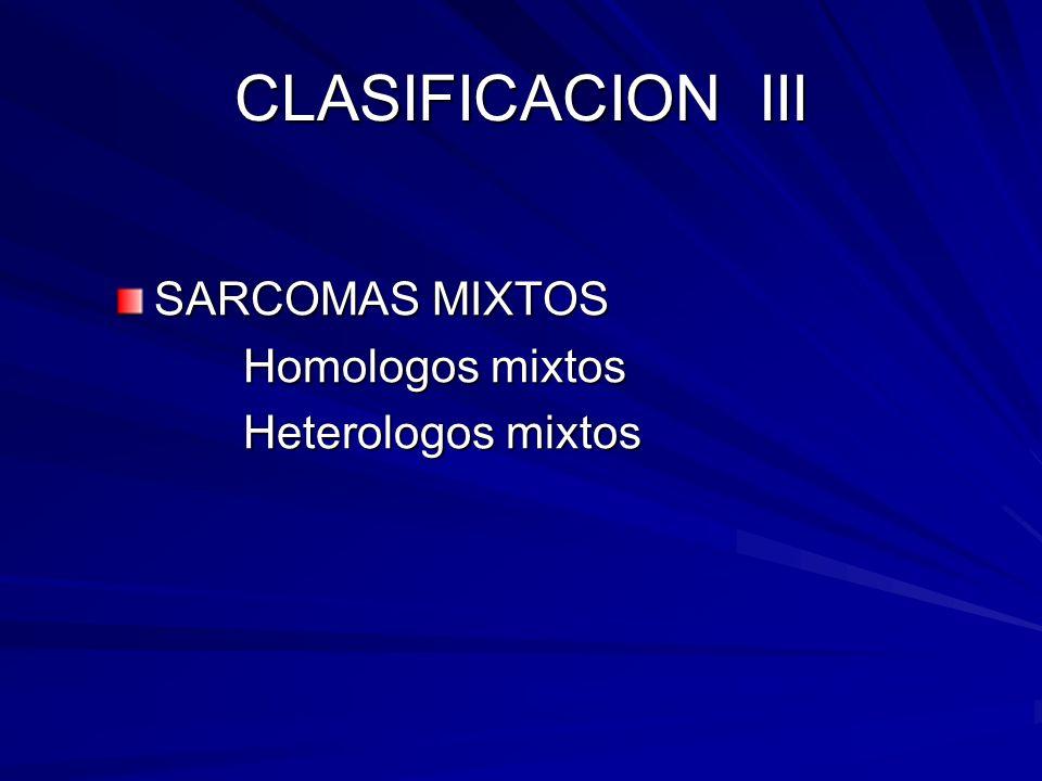 CLASIFICACION IV T.