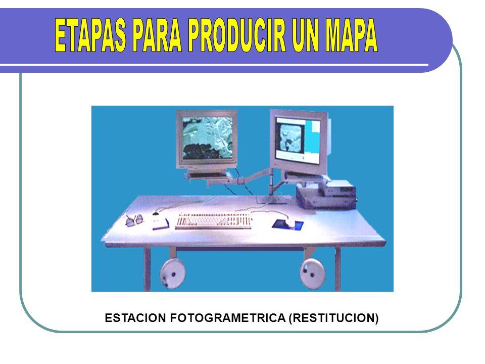 ESTACION FOTOGRAMETRICA (RESTITUCION)