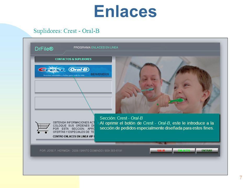 Enlaces Contactos & Suplidores 6