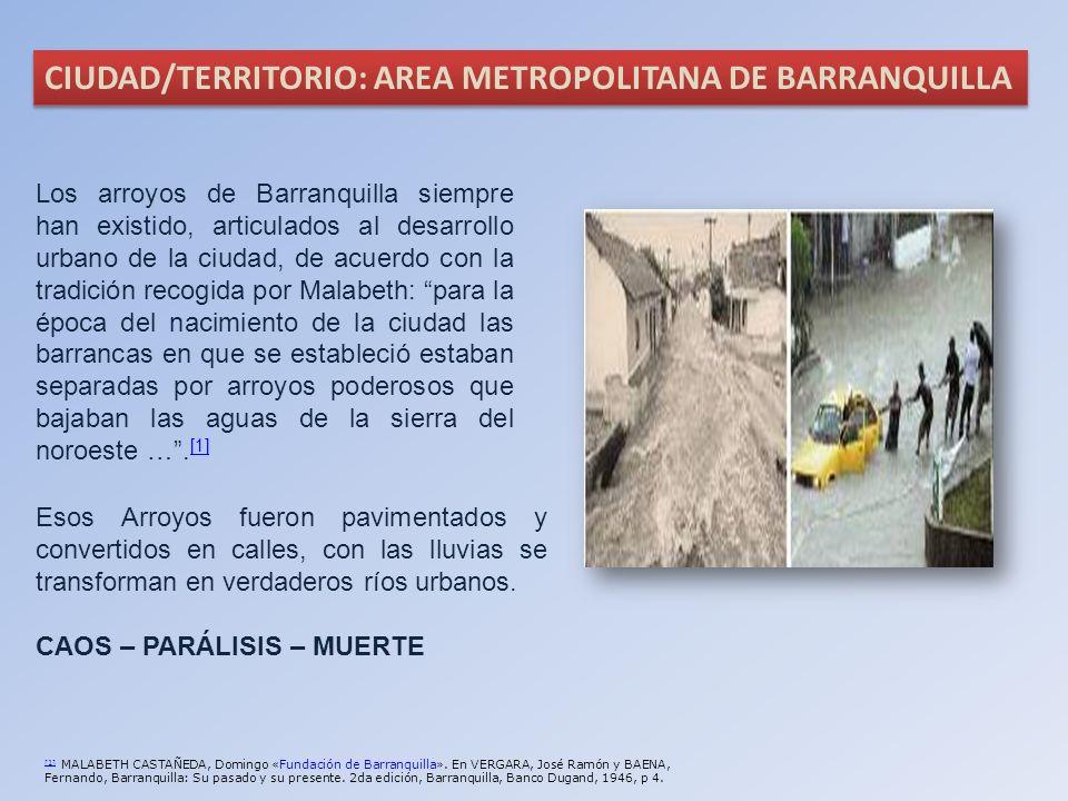 [1] [1] MALABETH CASTAÑEDA, Domingo «Fundación de Barranquilla». En VERGARA, José Ramón y BAENA, Fernando, Barranquilla: Su pasado y su presente. 2da