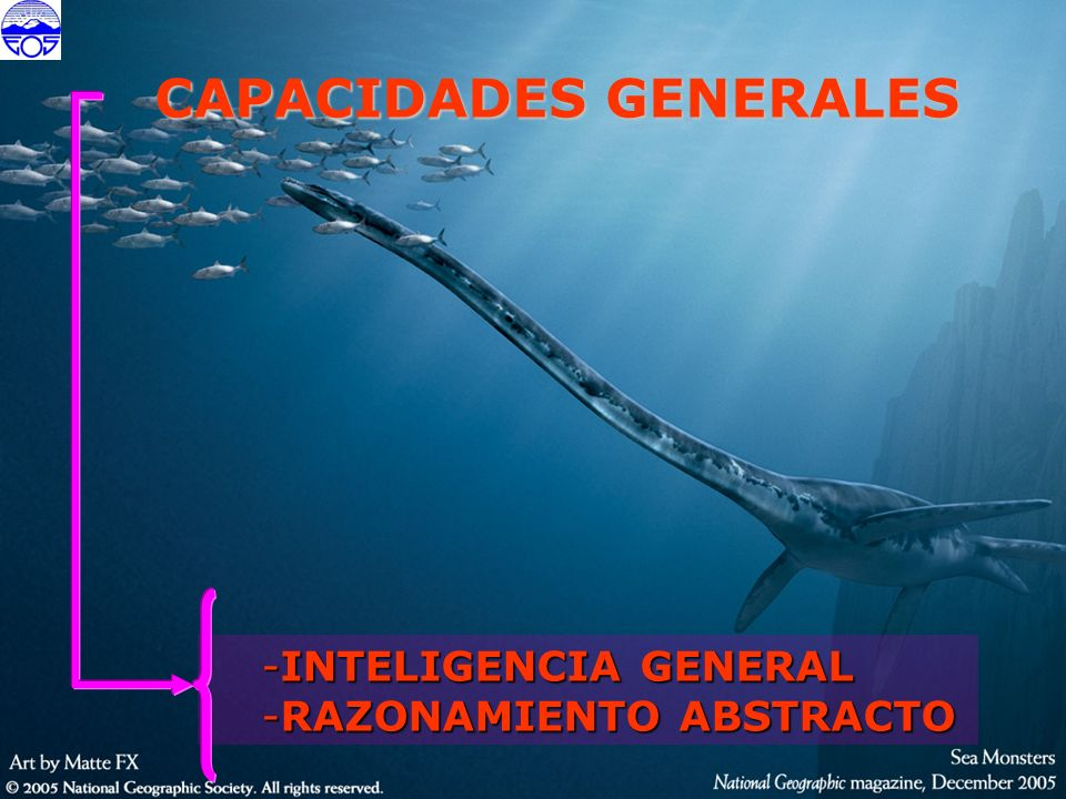 IG IG - Es la capacidad general actual para establecer relaciones entre conceptos abstractos utilizando variedad de contenidos mentales.