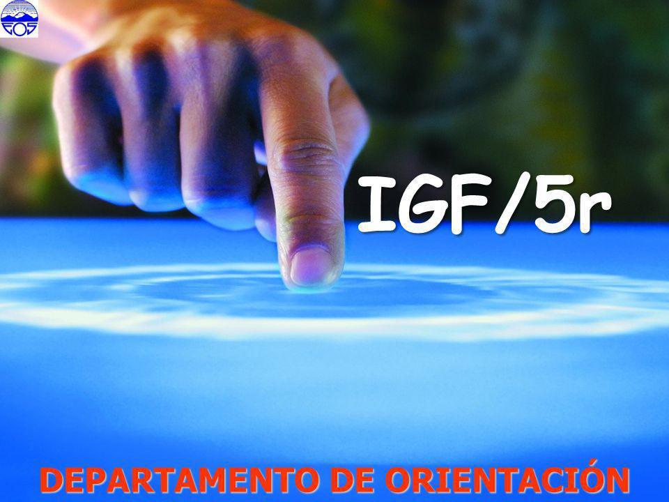 DEPARTAMENTO DE ORIENTACIÓN IGF/5r