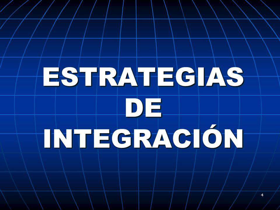 4 ESTRATEGIAS DE INTEGRACIÓN