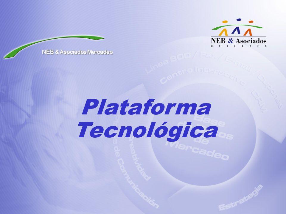 Plataforma Tecnológica NEB & Asociados Mercadeo