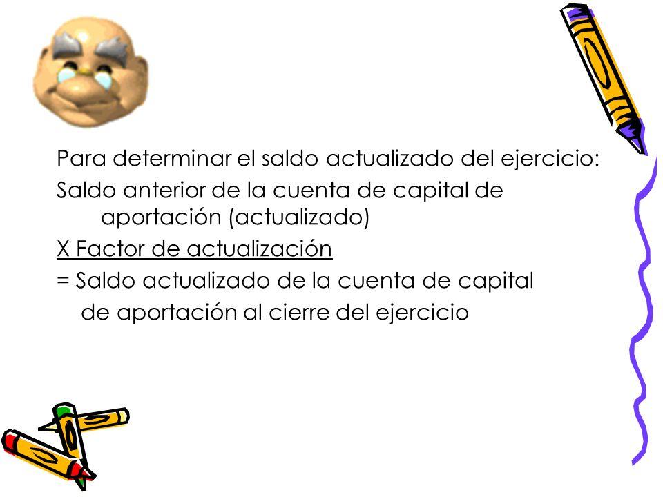 ¿Cómo se determina la cuenta de capital de aportación, cuándo aumenta, cuándo disminuye, cómo se actualiza? Art. 89 LISR La cuenta de capital de aport
