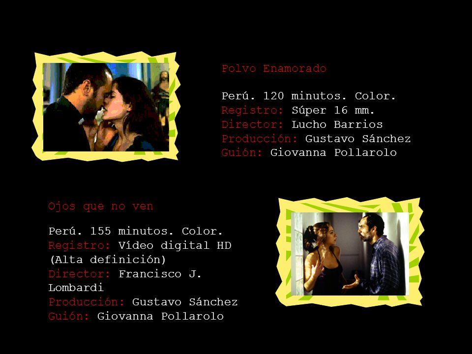 2003 El Destino no tiene favoritos Perú. 90 minutos. Color. Formato: 35 mm. Director: Álvaro Velarde Producción: Álvaro Velarde Guión: Álvaro Velarde
