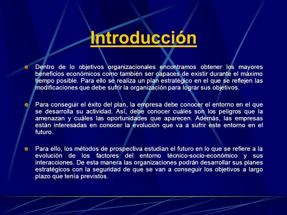 Introducción Dentro de lo objetivos organizacionales encontramos obtener los mayores beneficios económicos como también ser capaces de existir durante