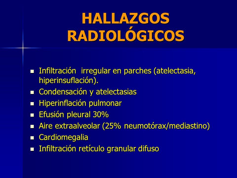 GABINETE RADIOGRAFIA DE TORAX RADIOGRAFIA DE TORAX GASES SANGUINEOS ARTERIALES GASES SANGUINEOS ARTERIALES HEMOGRAMA HEMOGRAMA GLUCOSA, CALCIO, ELECTR
