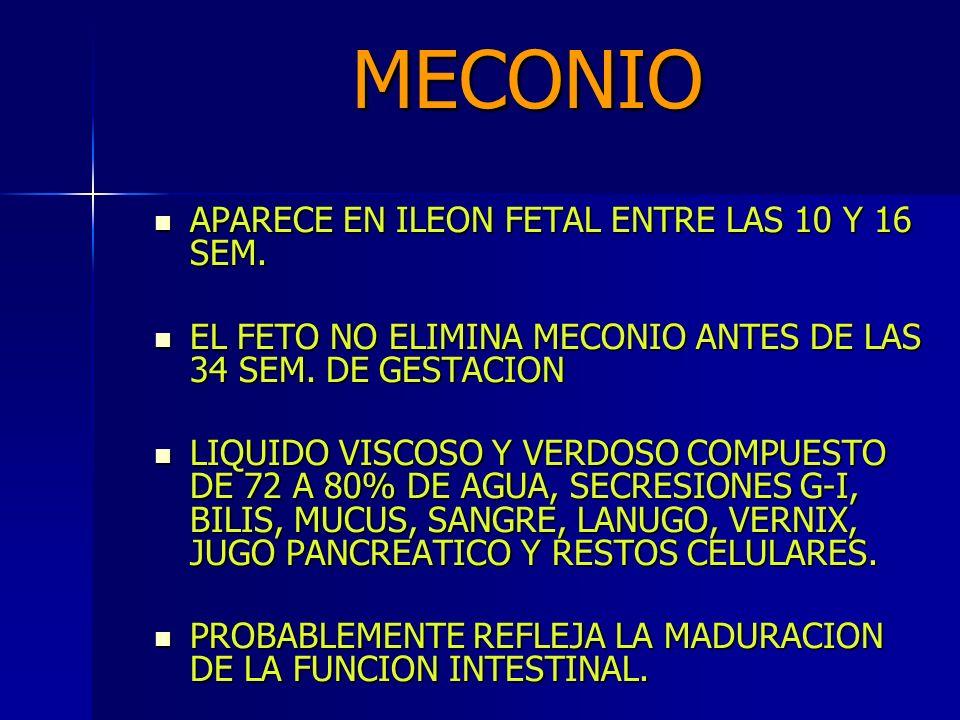 ASPIRACION DE MECONIO DE VIA AEREA ¿QUÉ OPINAN LA AAP Y AHA.
