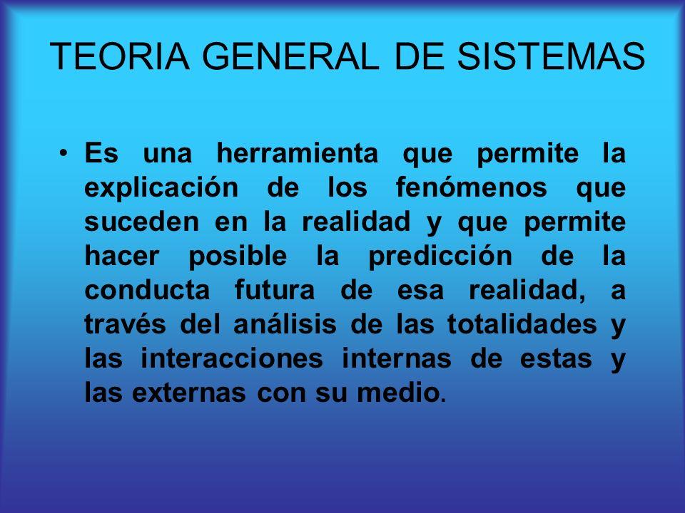 Es una herramienta que permite la explicación de los fenómenos que suceden en la realidad y que permite hacer posible la predicción de la conducta fut