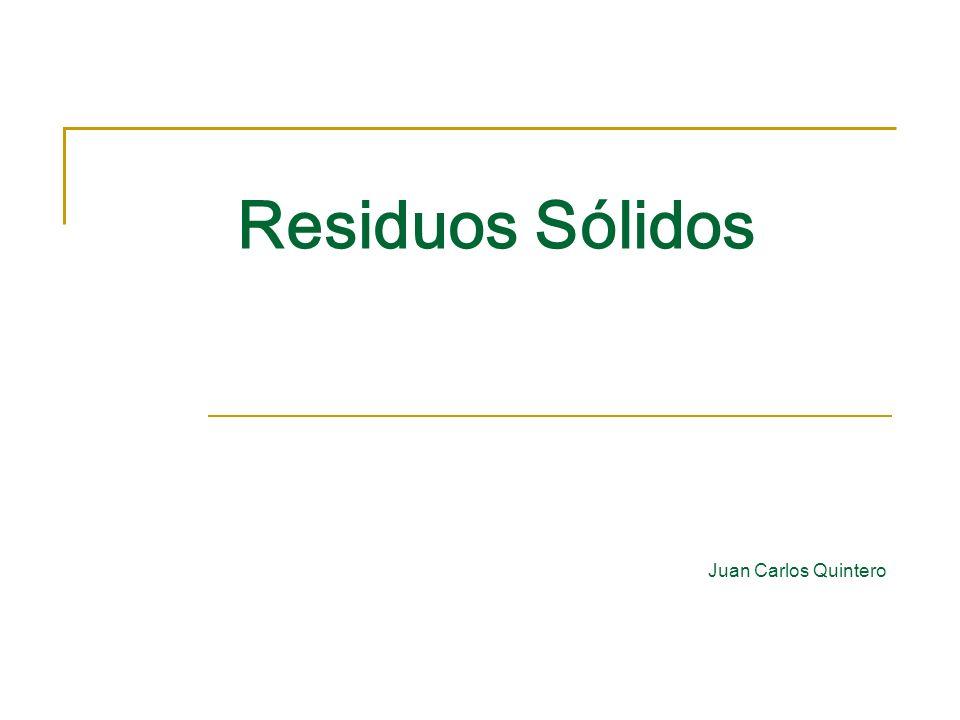 Residuos Sólidos Juan Carlos Quintero
