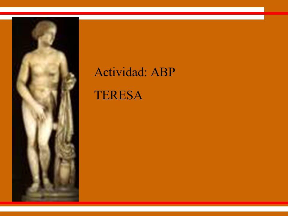 Actividad: ABP TERESA