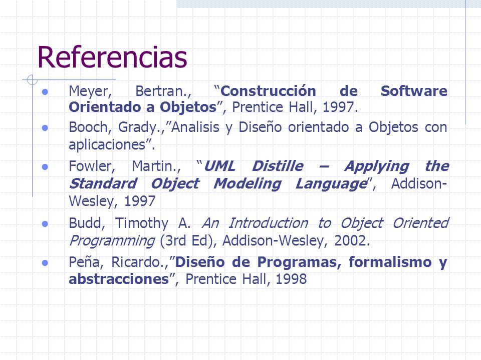 Conceptos básicos Nombre Datos/Atributos/Campos Métodos/Servicios/Interfaz
