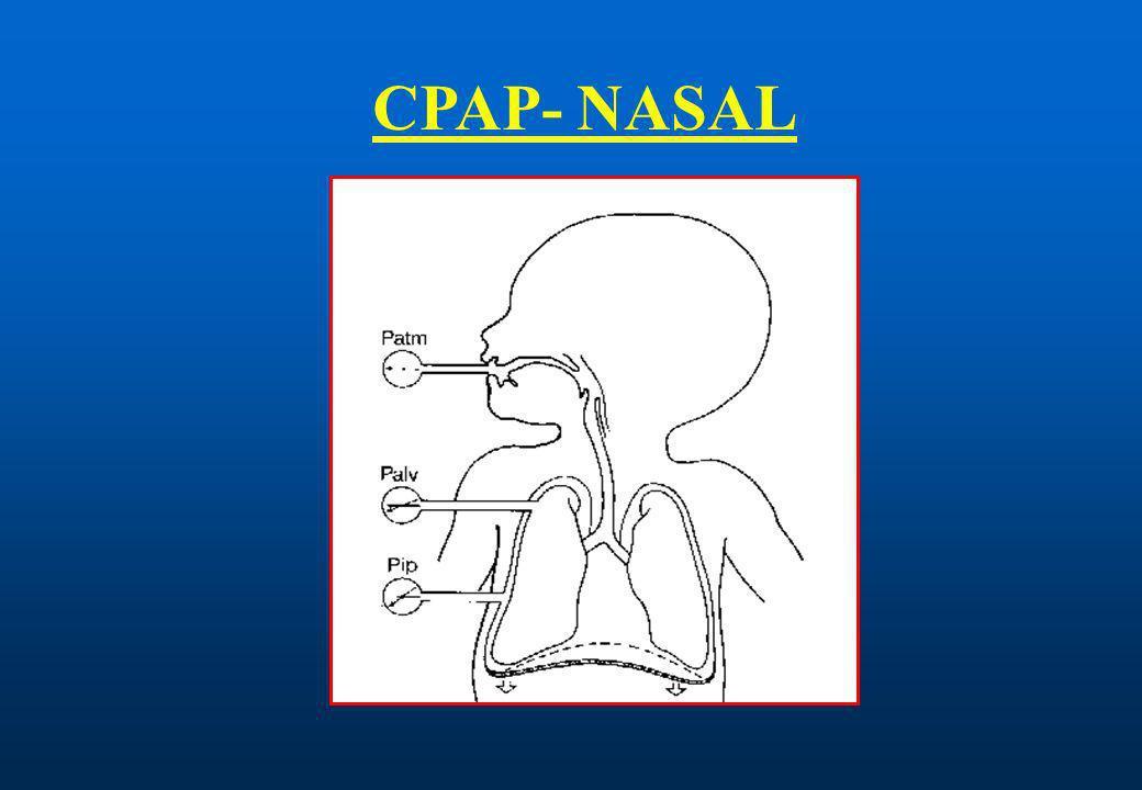 CPAP - NASAL METODOCOMPONENTES 1.-CIRCUITO DE FLUJO CONTINUO DE GAS.
