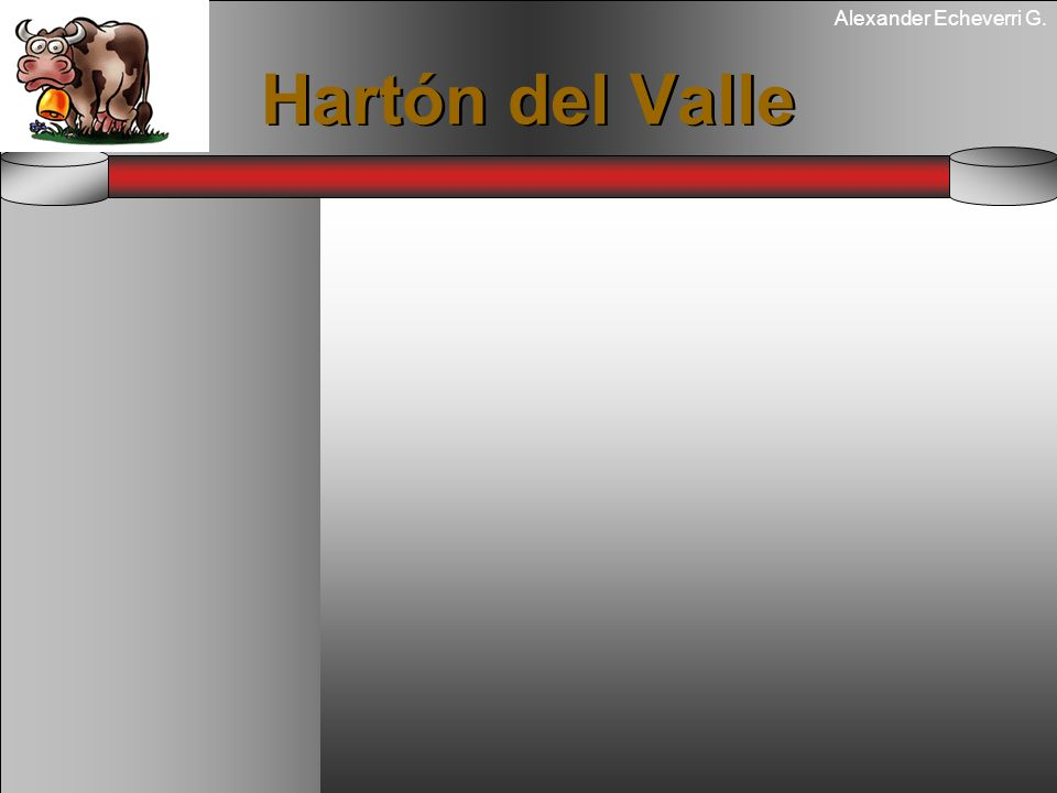 Alexander Echeverri G. Hartón del Valle