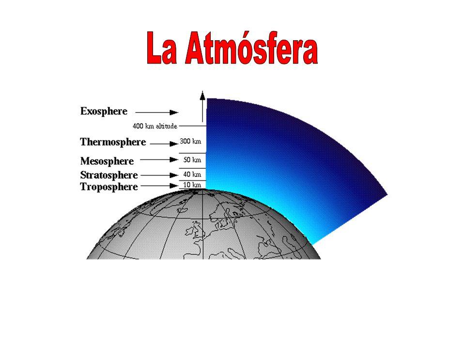 La atmósfera rodea al planeta Tierra y nos protege impidiendo la entrada de radiaciones peligrosas del sol.