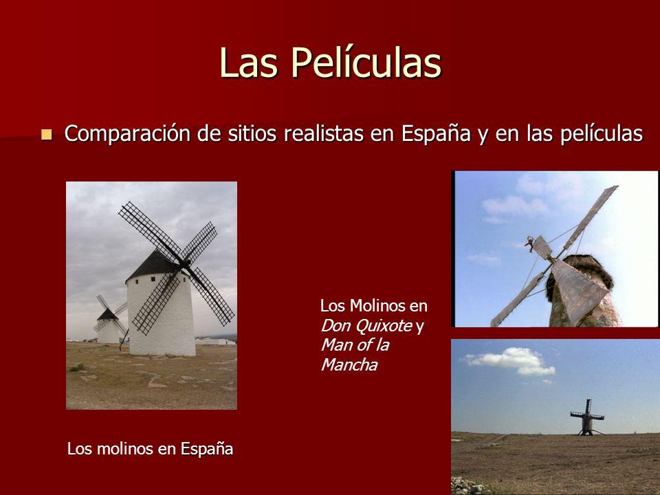 Las Películas Comparación de sitios realistas en España y en las películas Comparación de sitios realistas en España y en las películas España Los mol