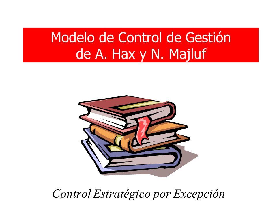 Modelo de Control de Gestión de A. Hax y N. Majluf Control Estratégico por Excepción