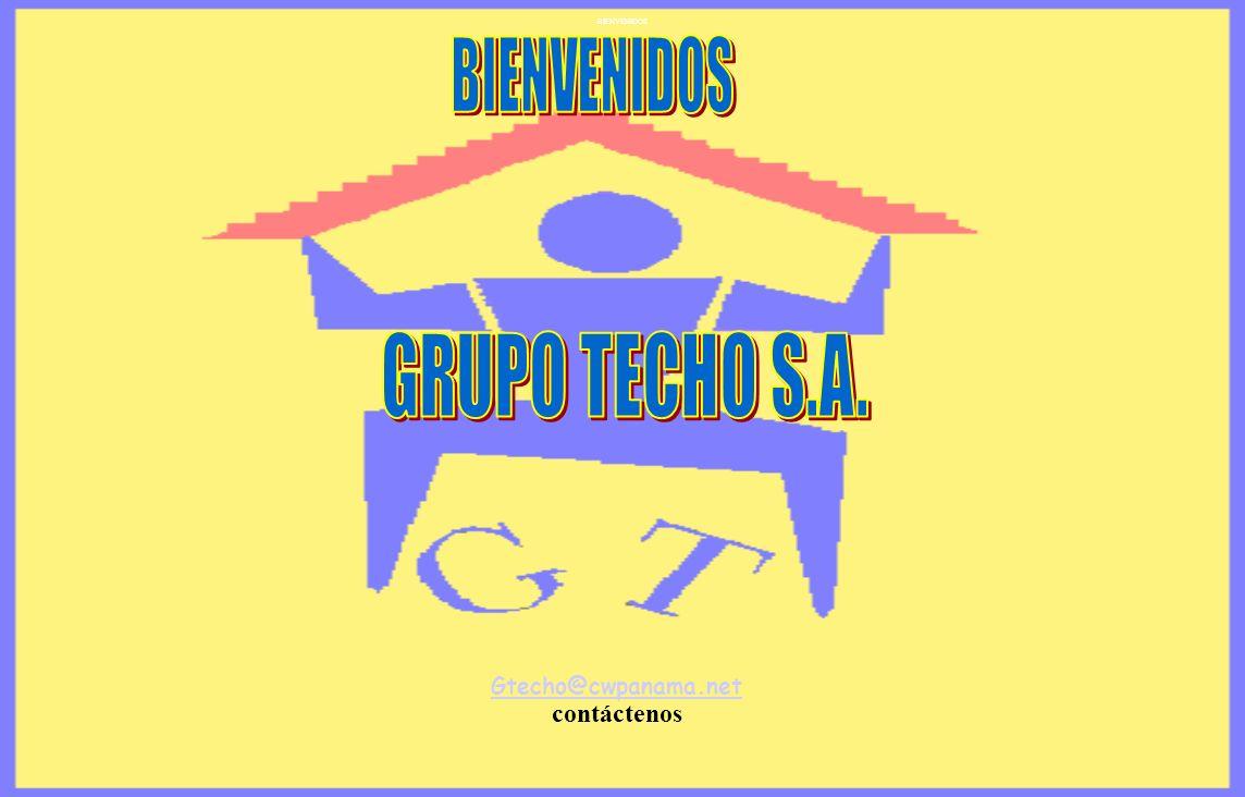 BIENVENIDOS Gtecho@cwpanama.net contáctenos