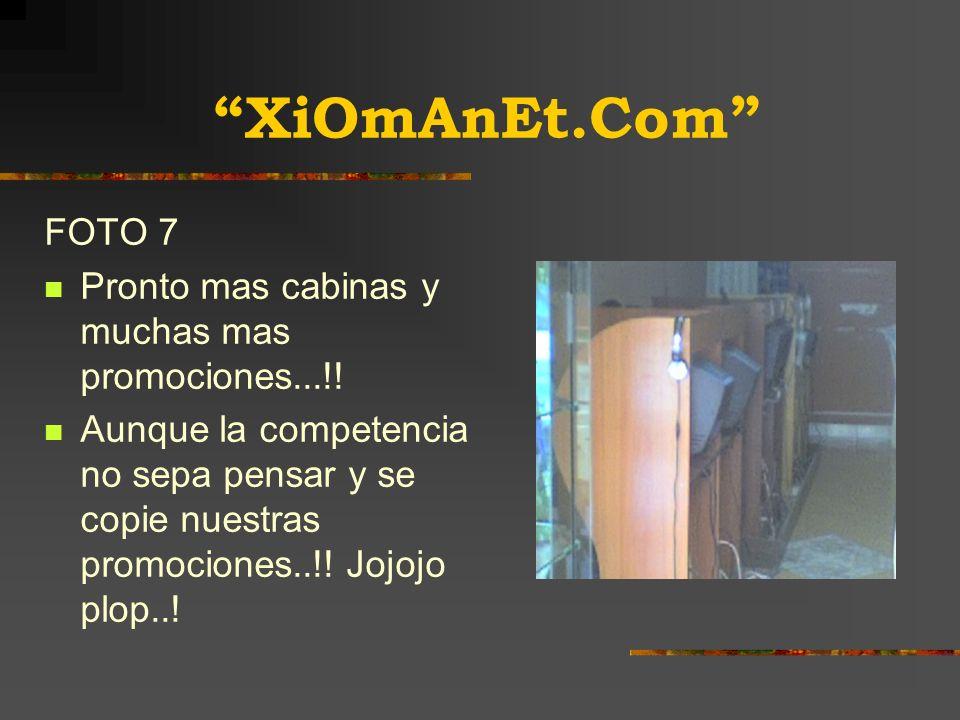 XiOmAnEt.Com FOTO 6 Una de las ultimas fotos.. Aunque las aspiraciones continúan.