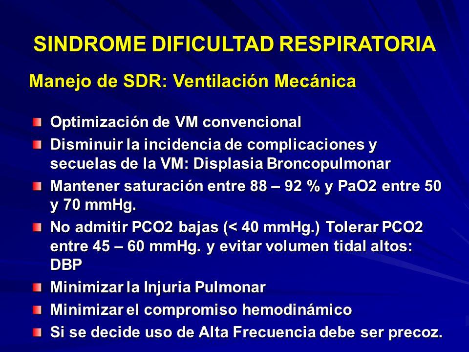 STORME-TRUFFET 01/2002 Sindrome de Dificultad respiratoria Sindrome de Dificultad respiratoria