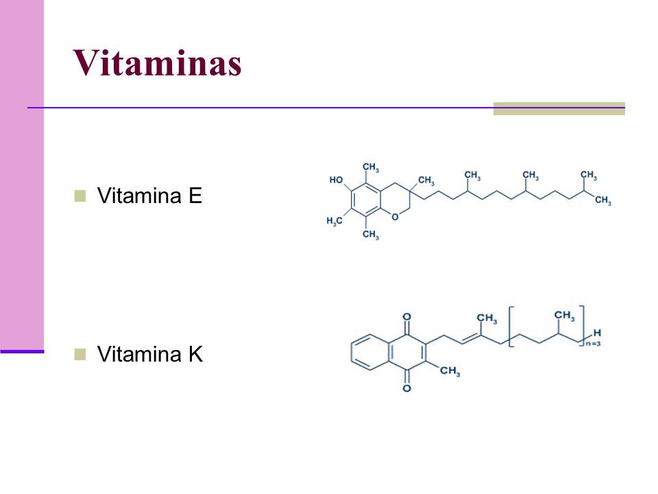 Vitaminas Vitamina E Vitamina K