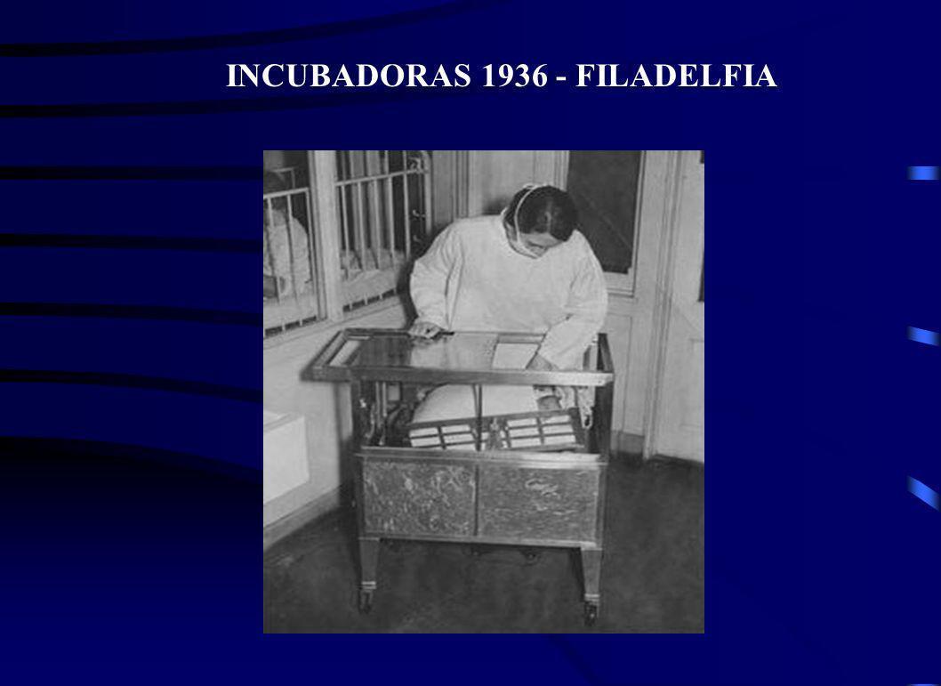 INCUBADORAS 1936 - FILADELFIA