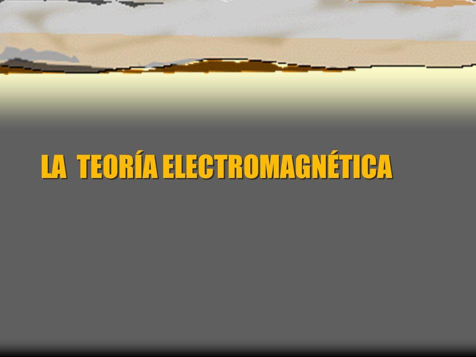 LA TEORÍA ELECTROMAGNÉTICA