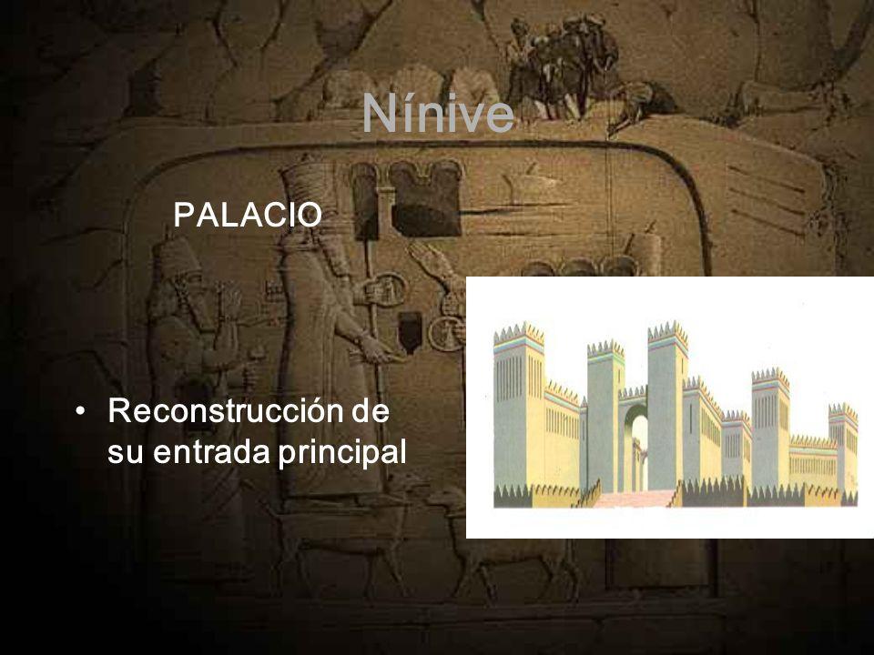 Nínive PALACIO Reconstrucción de su entrada principal