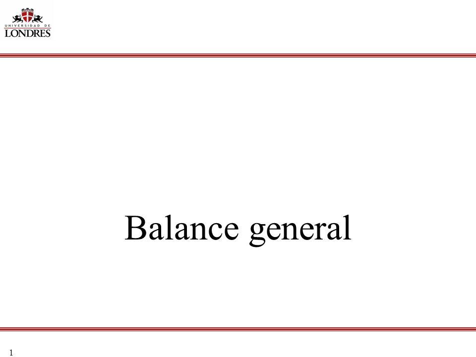 1 Balance general
