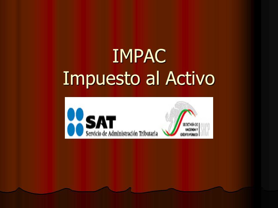 IMPAC Impuesto al Activo