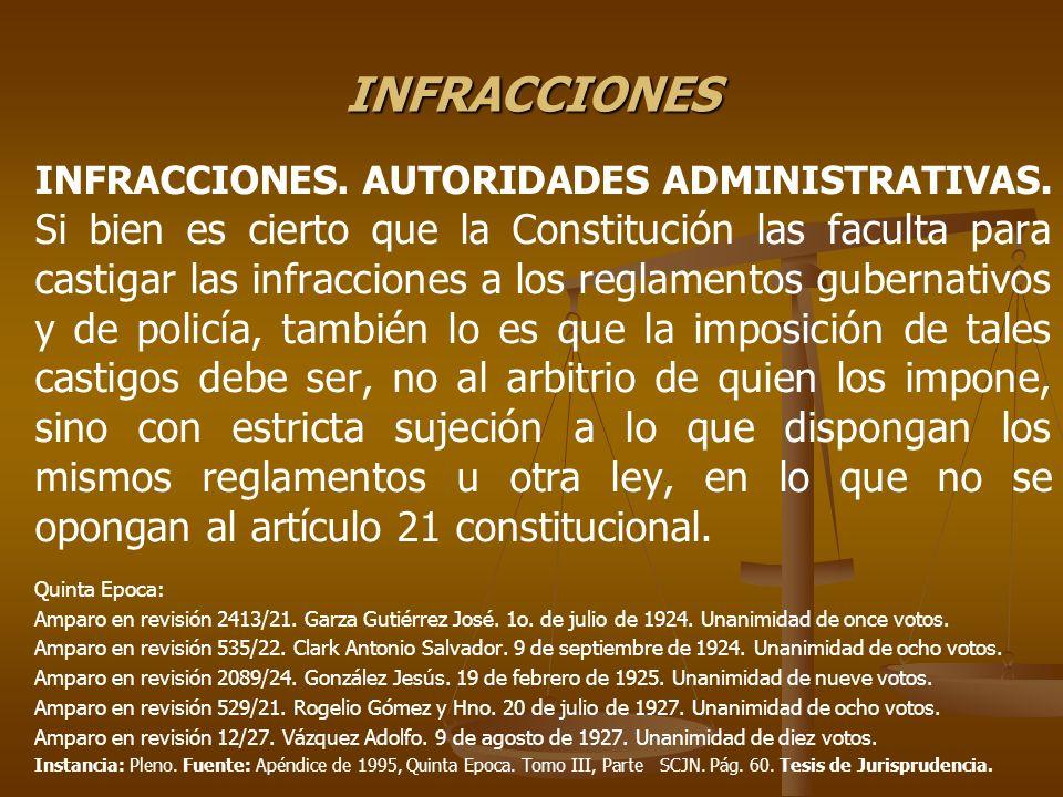 INFRACCIONES FISCALES AGRAVANTES DE LA INFRACCIÓN (Art.