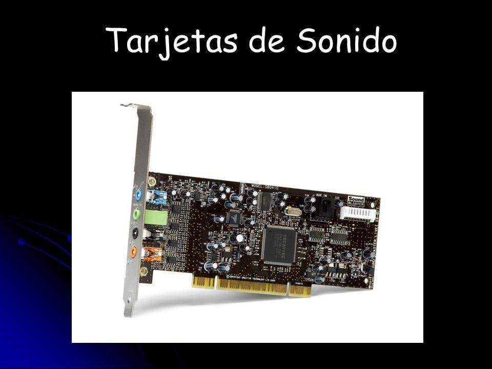 TIPOS DE TARJETAS Podemos clasificar las tarjetas de sonido según los canales que utilizan.
