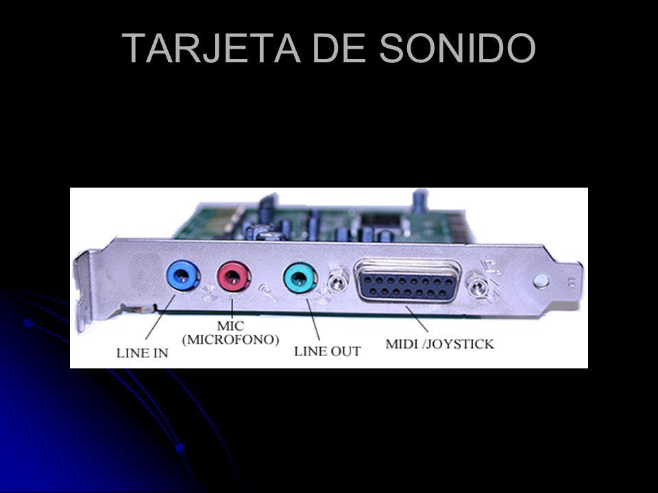 Definición Es el dispositivo de hardware protagonista en la reproducción de sonido.